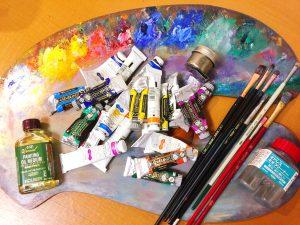 油絵の描き方ー準備から絵具の塗り方までー