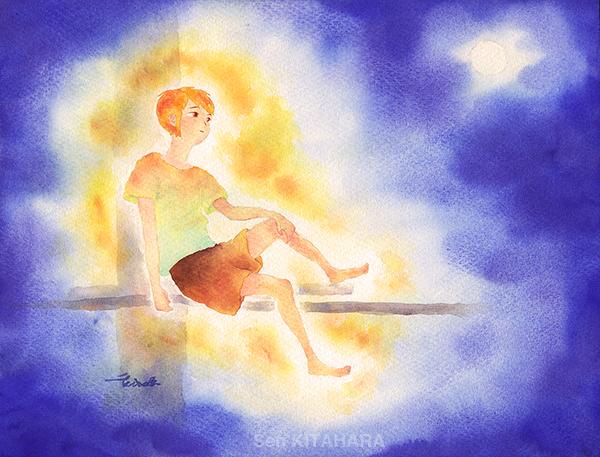 夏の蛍 | Firefly